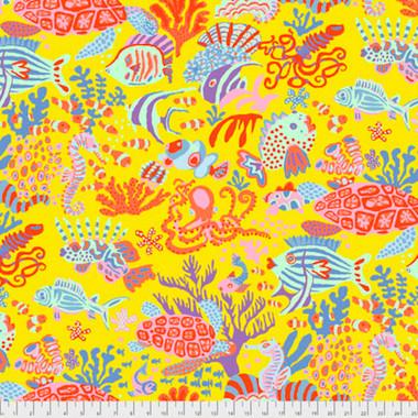 Brandon Mably Pwbm064 Scuba Yellow Quilting Cotton Fabric