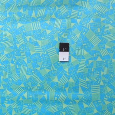 Erin Mcmorris Pwem053 Astrid Mitte Aquamarine Fabric By