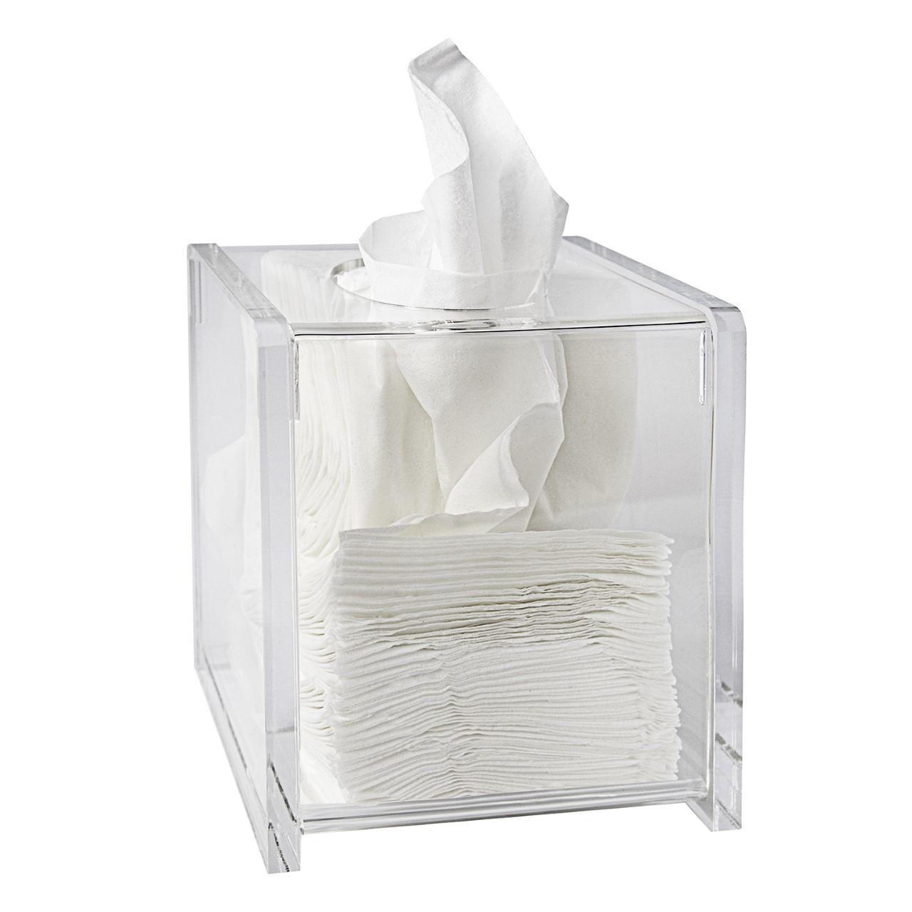 Lucite Tissue Box Covers