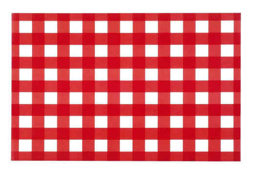 Farmhouse Kitchen Red Paper Placemats