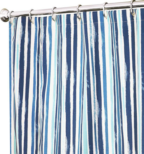 Blue Striped Tommy Bahama Shower Curtains