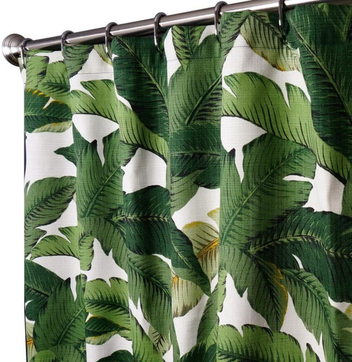 Tommy Bahama Fabric Extra Long Shower Curtains