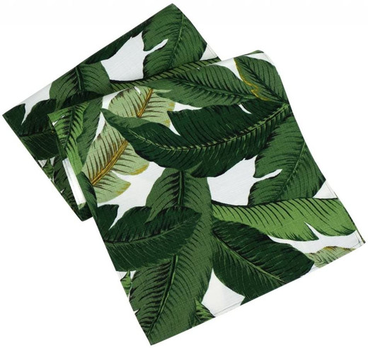 Tommy Bahama Green Table Runners 72 Inch