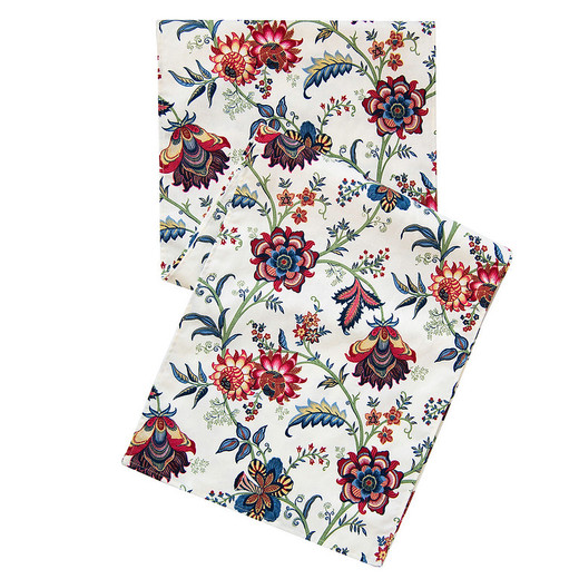 Red and Blue Table Runners 72 Inch