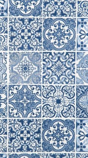 Beach Bathroom Decor Blue Paper Hand Towels for Bathroom Guest Towels Disposable Paper Napkins Decorative Tiles Pak 32