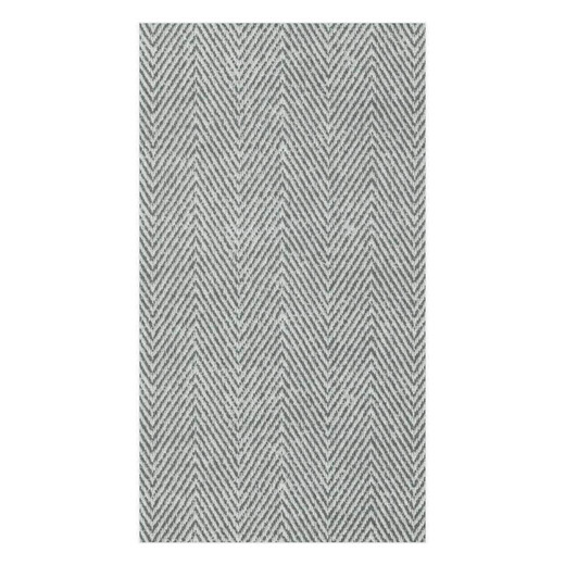 Hand Towels or Paper Guest Towels Party Supplies 24 Count Gray Herringbone -  Paper Linen