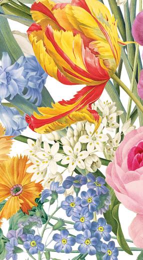 Disposable Hand Towels, Decorative Paper Guest Towels for Bathroom or Paper Napkins Dinner Napkins Size Floral Ivory Pak 30