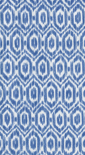 Disposable Hand Towels, Decorative Paper Guest Towels for Bathroom or Paper Napkins Dinner Napkins Size Amala Ikat Blue Pak 30