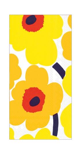 Yellow Marimekko Paper Hand Towels