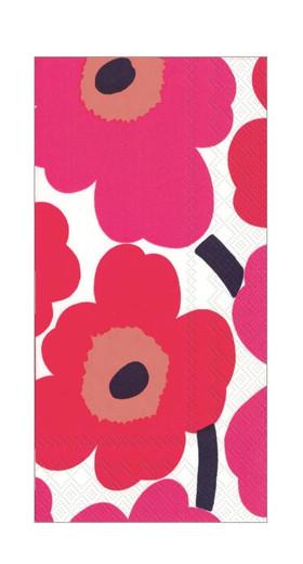 Marimekko Pink Paper Hand Towels