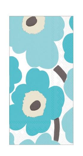 Turquoise Marimekko Paper Hand Towels