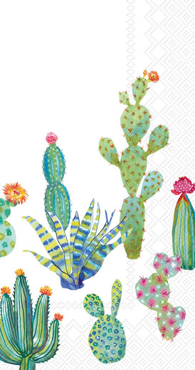 Cactus Western Paper Hand Towels