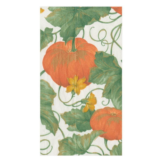 Heirloom Pumkin Fall Paper Hand Towels Pk 30