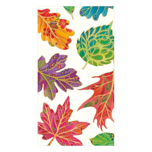Jeweled Autumn Décor Paper Guest Hand Towels
