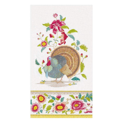 Thanksgiving Setting Fall Decor Paper Hand Towels Pk 30
