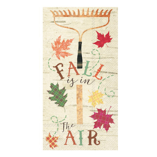 Fall Decor Paper Hand Towels Pak 32