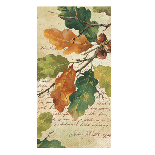 Autumn Fall Decor Hand Towels Pak 32