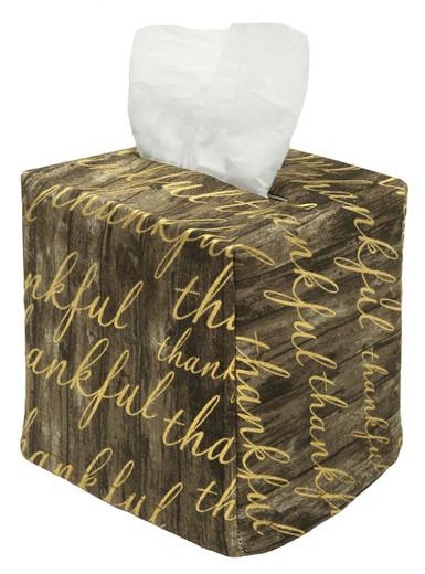 Tissue Box Cover Tissue Holder Square Christmas Bathroom Decor, Rustic Farmhouse Bathroom Decor