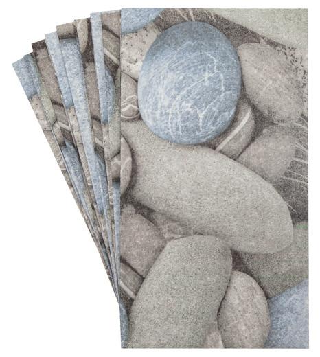 Pak 32 Beach Bathroom Decor Stones Decorative Paper Hand Towels