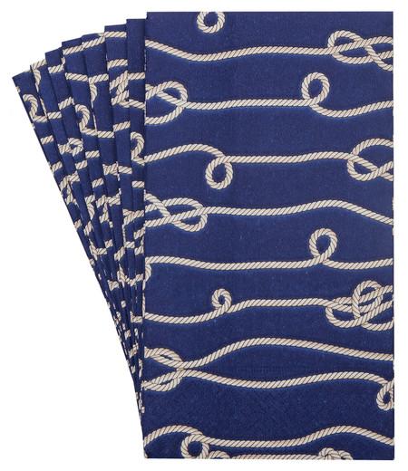 Pack 32 Beach Bathroom Decor Nautical Knots Decorative Paper Hand Towels