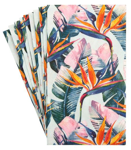 Pak 32 Luau Hawaiian Party Hand Towels Decorative Paper Hand Towels
