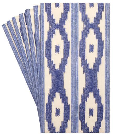 Pak 32 Modern Ikat Decorative Decorative Paper Hand Towels
