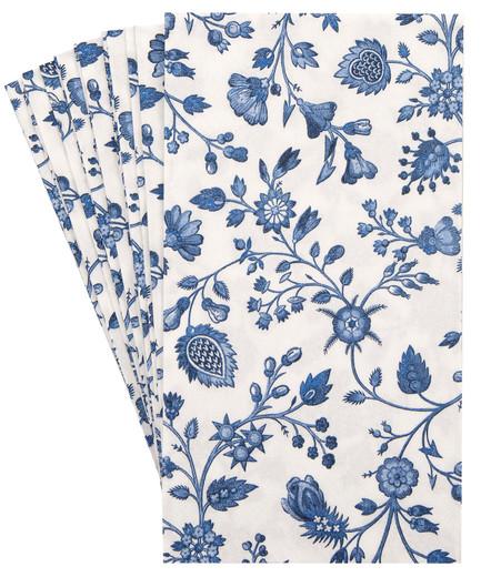 Pak 32 Blue Bathroom Decorative Paper Hand Towels