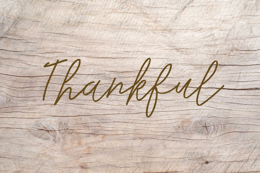 Thankful Paper Placemats Pk 24