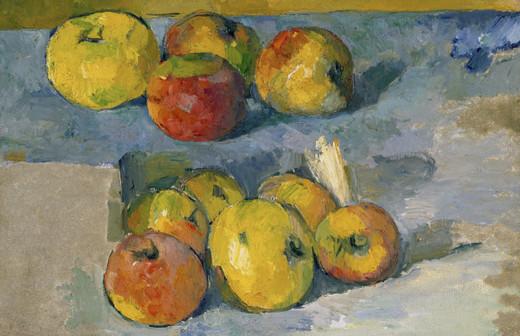 Cezanne Apples Paper Placemats Pak 24
