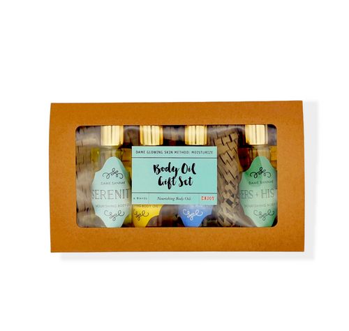 Dame Body Oil Gift Set