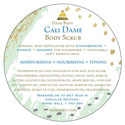 Cali Dame Body Scrub