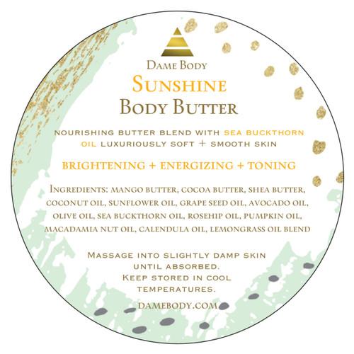 Sunshine Butter