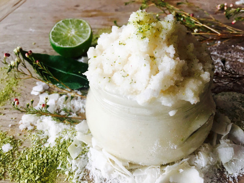 Coconut Milk & Lime Body Scrub SOFTEN