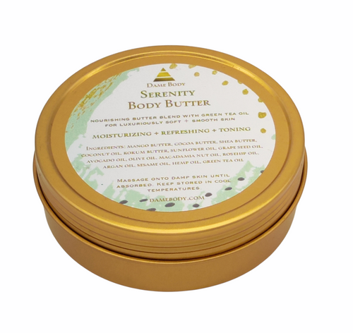 Gold Tin Body Butter