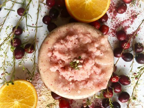 Orange Cranberry Body Scrub ANTIOXIDANT RICH