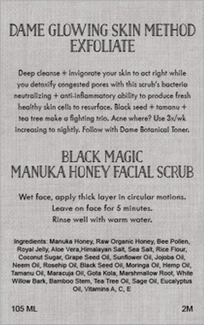 Black Magic Face Scrub