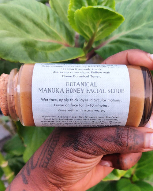 Botanicals + Honey Face Scrub