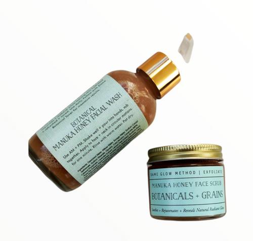Botanicals + Honey Face Scrub