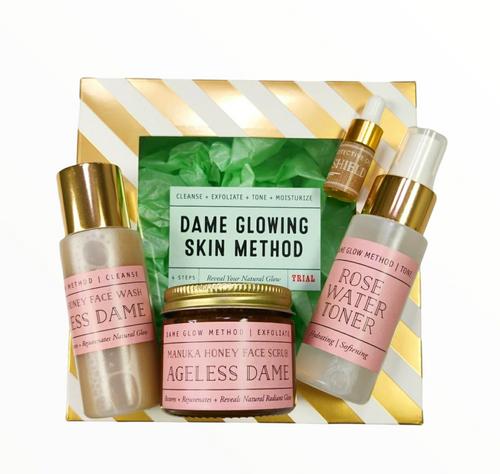 Dame Glowing Skin Care Trial Kit