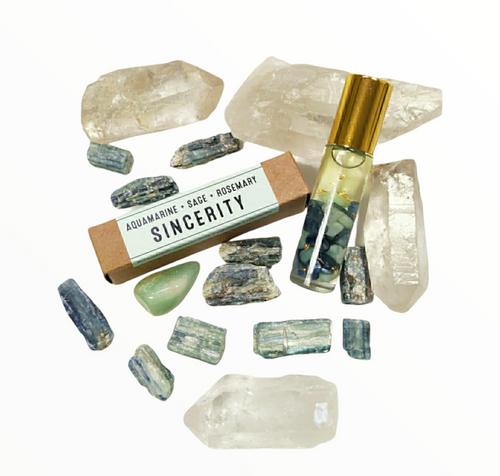 Aromatherapy Crystal Essence