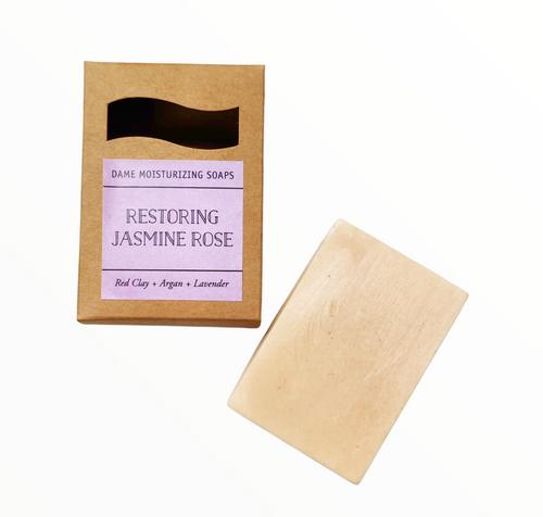 Jasmine Rose Clay Soap Bar