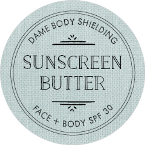 Sunscreen Butter