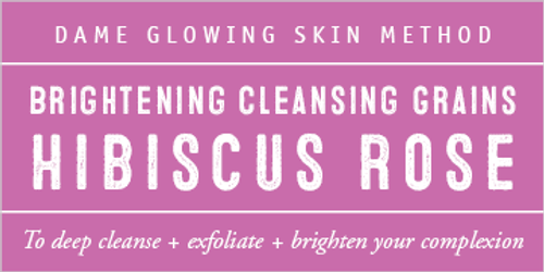 Hibiscus + Rose Evening Cleansing Grains