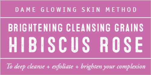 Hibiscus + Rose Evening Cleansing Grains