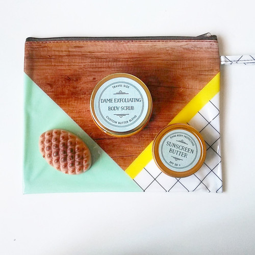 Travel Body Butter + Scrub Kit