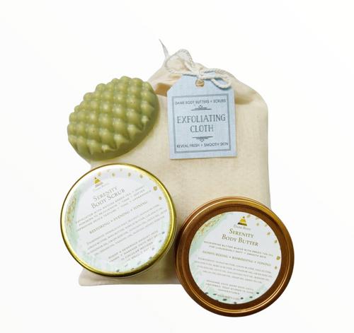 Travel Body Butter + Scrub Kit