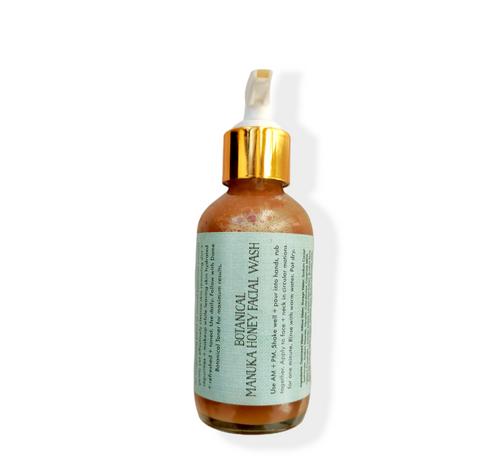 Botanical Manuka Honey Face Wash