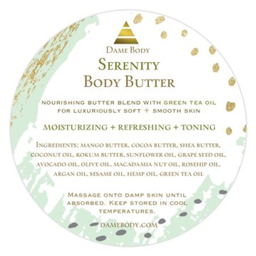 Serenity Green Tea Body Butter