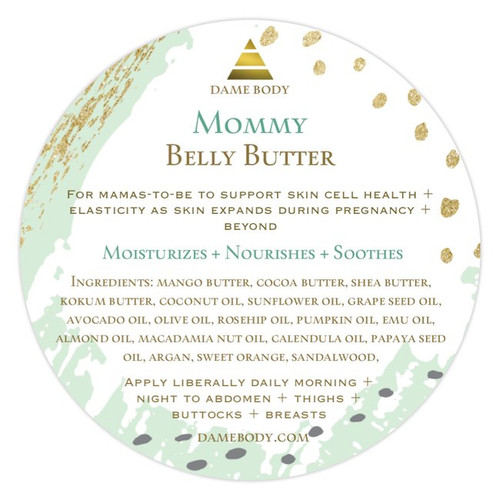 Mommy Belly + Body Butter