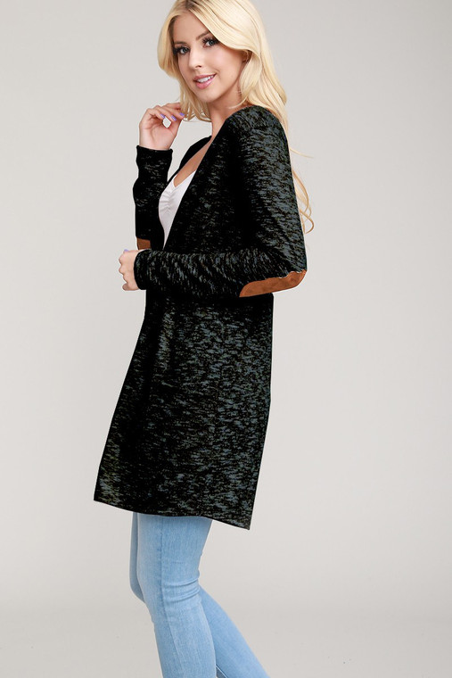 Adorrrrrrrrrable! This cardigan has the sweetest elbow patches and button detail up the whole back. It is an amazing addition to any outfit.